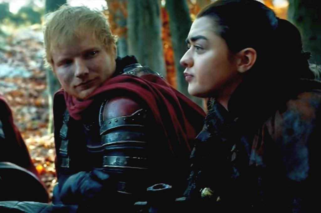 Ed Sheeran's scene on Game of Thrones