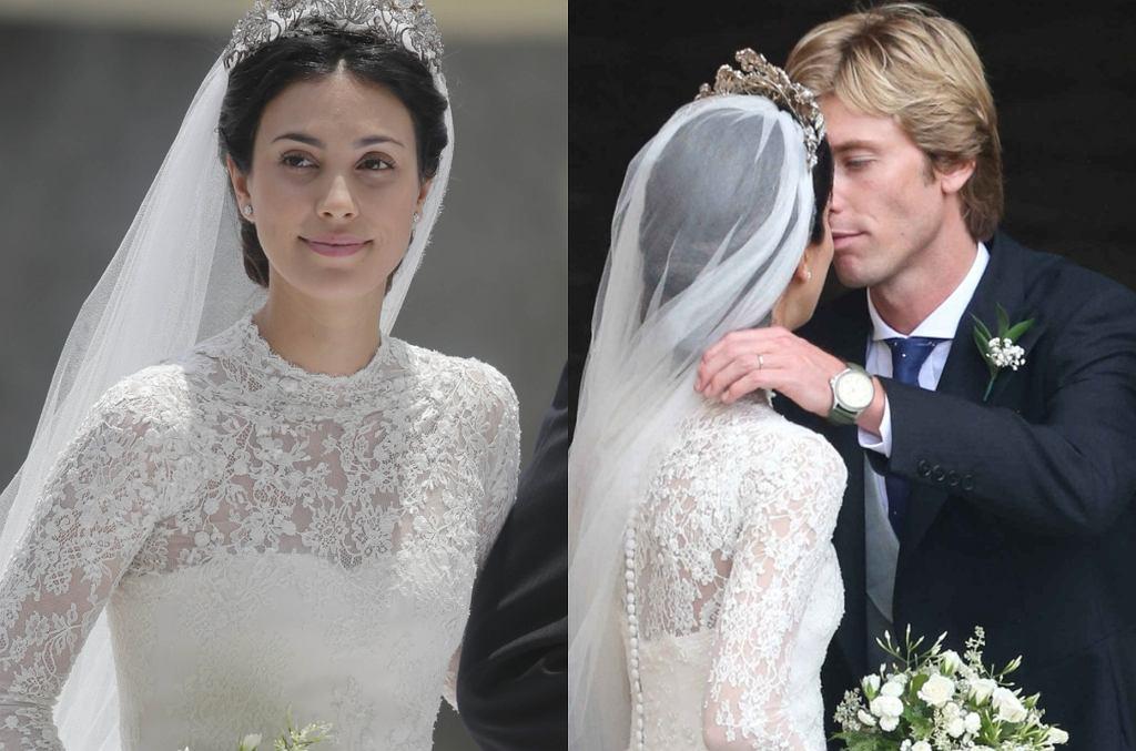 Ślub księcia Christiana i Alessandry da Osma