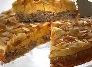 Tort migdałowy szwedzki