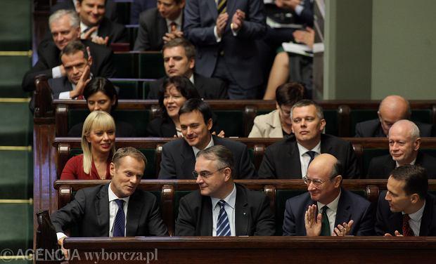 Rząd Tuska dostał w Sejmie wotum zaufania