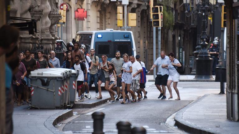 Barcelona. Zamach na La Rambla