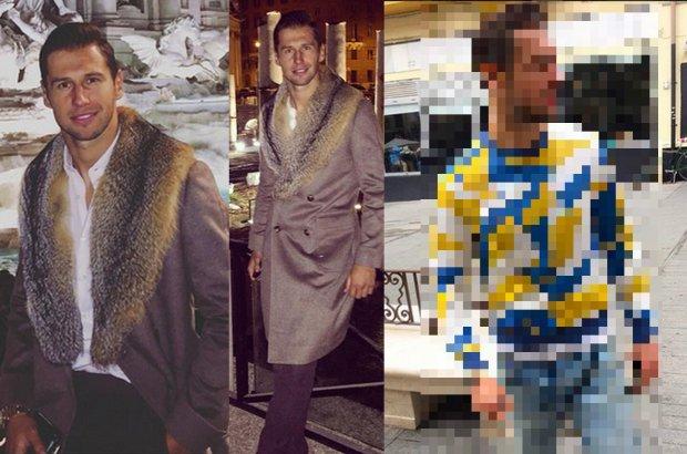 Zdjęcie nr 1 w galerii - Grzegorz Krychowiak lubi modę ...