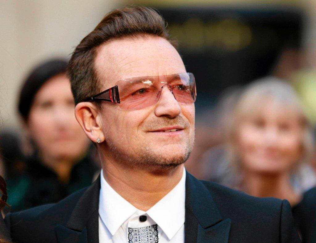 Bono na ubiegłorocznej gali wręczenia Oscarów
