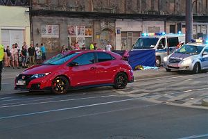 Zarzut i areszt dla 26-letniego kierowcy hondy. Mężczyzna pędził przez Warszawę. Zabił 14-latkę