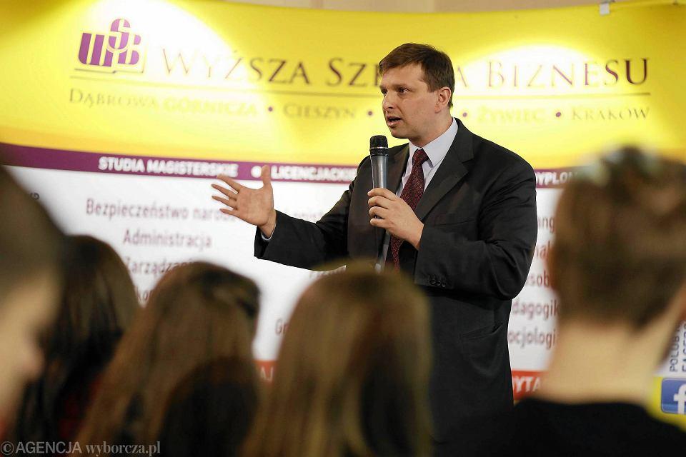 Marek Zuber, ekonomista i analityk rynków finansowych będzie jednym z gości II edycji Wschodniego Forum Biznesu w Lublinie