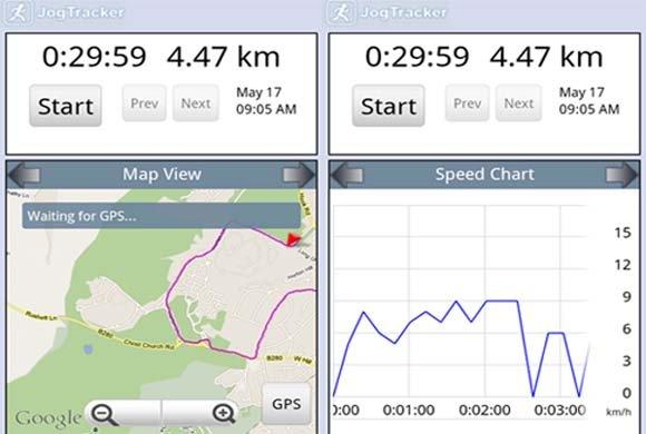 Jog Tracker