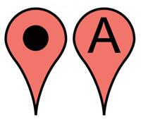 Tagi: top 10, aplikacja, podróże, android, apple, Top 10: aplikacje podróżnicze, Mapy Google, Gmaps
