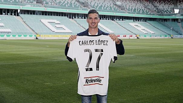 Carlitos piłkarzem Legii Warszawa