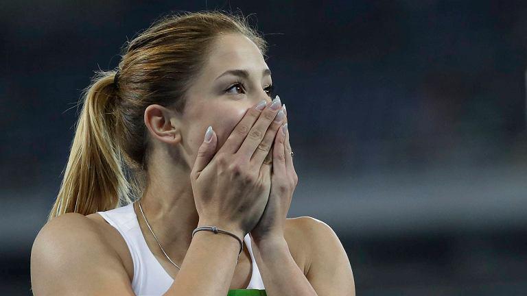 Ewa Swoboda w biegu eliminacyjnym na 100 metrów podczas igrzysk w Rio