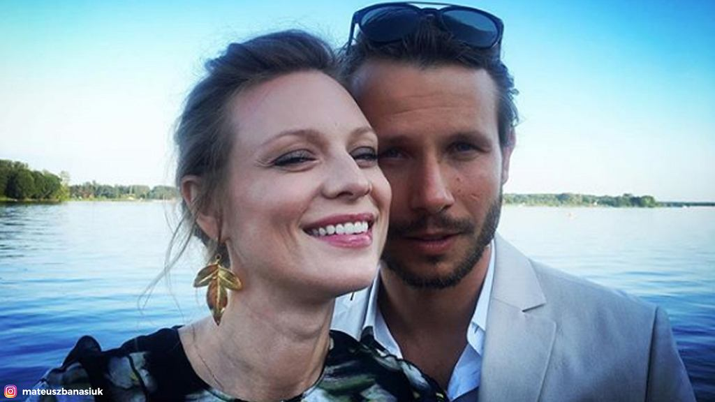 Mateusz Banasiuk i Magdalena Boczarska zdecydowali, że ich dzieckiem zajmą się babcie.
