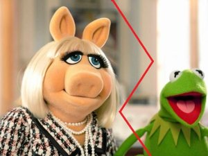 Miss Piggy i �aba Kermit