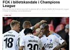 Liga Mistrz�w. FC Kopenhaga tylko dla najbardziej du�skich Du�czyk�w