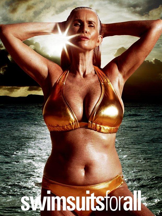 Kampania #SwimSexy Swimsuitsforall z nietypowymi modelkami - ukaże się na łamach