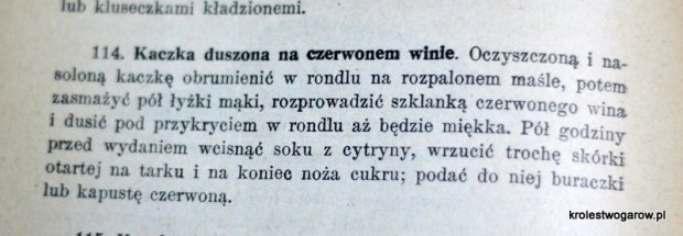 """Przepis Marii Ochorowicz-Monatowej (""""Uniwersalna Książka Kucharska"""" 1910)"""