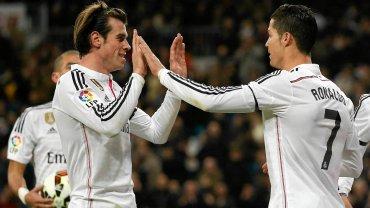 Gareth Bale i Cristiano Ronaldo - najdrożsi piłkarze świata