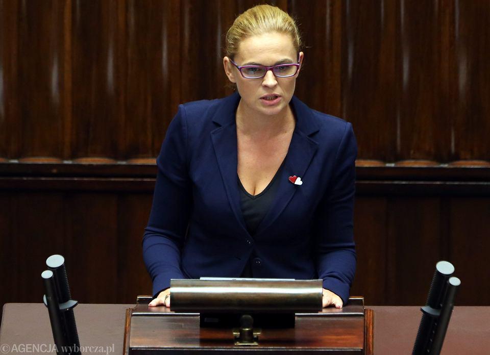 Barbara Nowacka z komitetu Ratujmy Kobiety