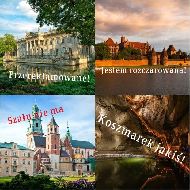 My�leli�cie, �e to najwspanialsze polskie atrakcje turystyczne? Polscy i zagraniczni tury�ci szybko wyprowadz� was z b��du