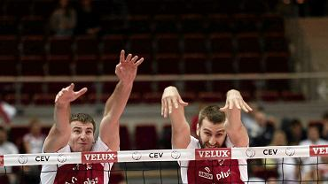 Wciąż nie wiadomo czy Grzegorz Bociek (po lewej) i Marcin Możdżonek (po praweej) będa grali razem w Zaksie
