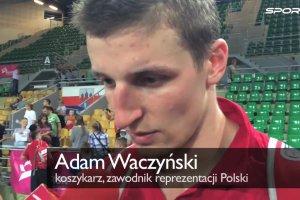 EuroBasket 2015. Waczy�ski: Gortat jest nasz� podpor�, wszystko tak naprawd� od niego zale�y