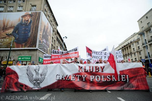 Manifestacja klubów
