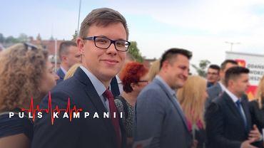 Jakub Bródka 18 lat skończy na cztery dni przed pierwszą turą wyborów samorządowych