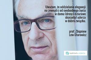 Nie krytykowa�, nie ogranicza�, nie chodzi� w dresie - Lew-Starowicz o b��dach, kt�re niszcz� zwi�zki [RANKING]