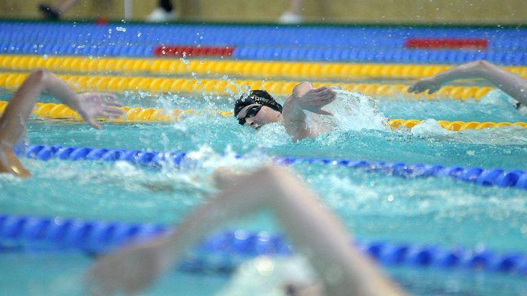 Zawody pływackie w olsztyńskiej Aquasferze