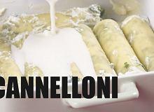 Cannelloni ze szpinakiem i ricottą - ugotuj