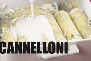 Cannelloni ze szpinakiem i ricott�