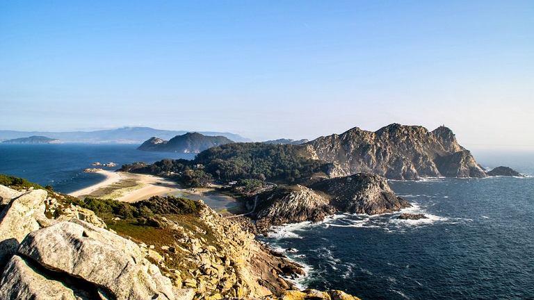 Wyspy Cies z najpiękniejszą plażą świata, Hiszpania