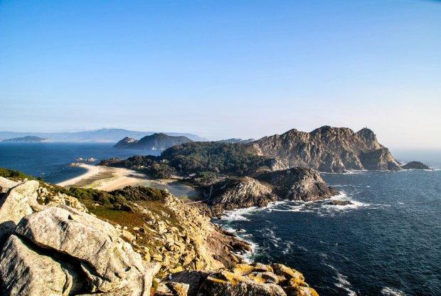 Wyspy Cies z najpi�kniejsz� pla�� �wiata, Hiszpania