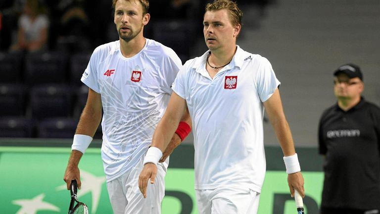 Łukasz Kubot (z lewej) i Marcin Matkowski