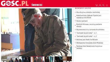Relację z gry o żołnierzach wyklętych opublikował portal gosc.pl