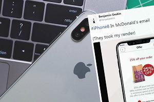 McDonald's reklamując swoją aplikację przypadkiem potwierdził wygląd iPhone'a 8