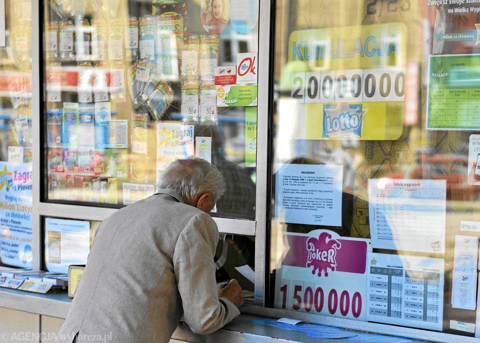 Kiosk Lotto