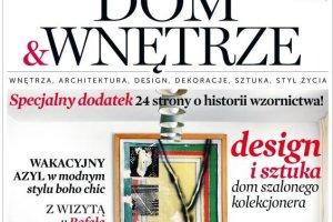 """Nowy numer miesięcznika """"Dom&Wnętrze"""""""