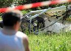 Katastrofa lotnicza pod Wroc�awiem. Jedna osoba nie �yje