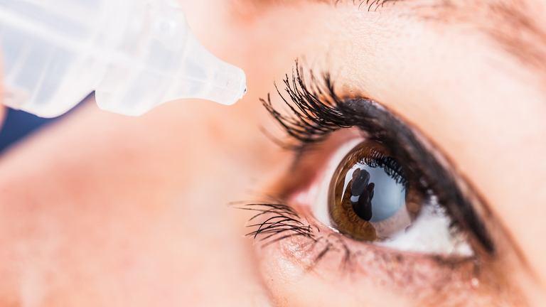 Krople na problemy z oczami