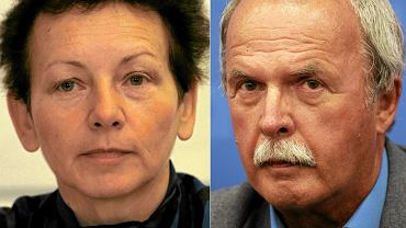 Prof. Monika Płatek i prof. Marian Filar