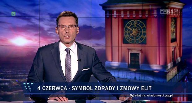 """W rocznicę wyborów z 1989 r. """"Wiadomości"""" o """"symbolu zdrady"""" i """"zmowie elit"""""""