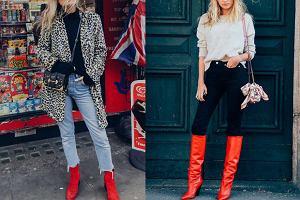 Czerwone botki i kozaki na jesień - jakie modele wybierać i z czym nosić?