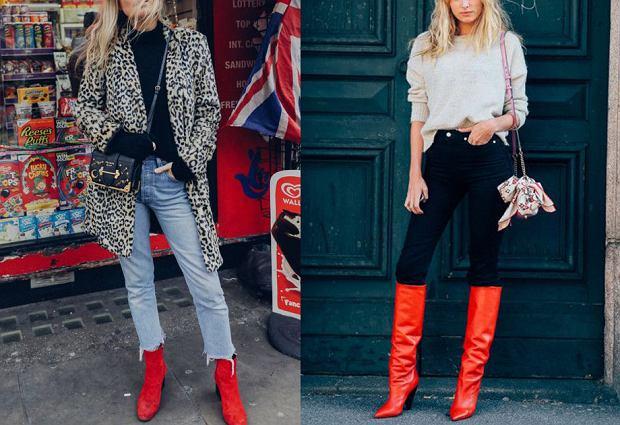 9f97434e1785a Czerwone botki i kozaki na jesień - jakie modele wybierać i z czym nosić?