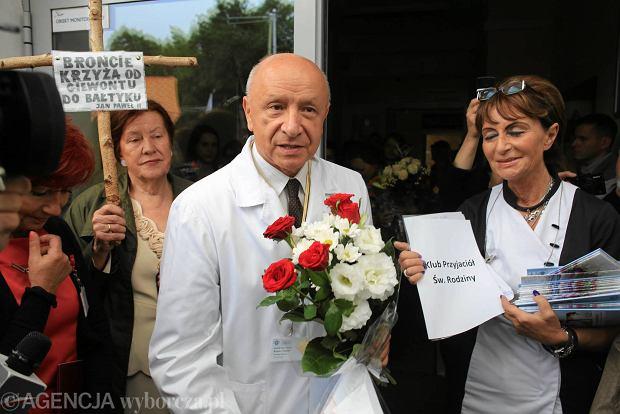 Prof. Chazan nie b�dzie mia� zarzut�w za odmow� aborcji