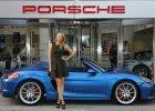 Piękna Maria Sharapova w Porsche Boxster Spyder
