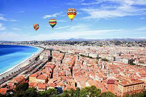 Francja miasta - Nicea: zabytki Starego Miasta i Wzg�rze Zamkowe