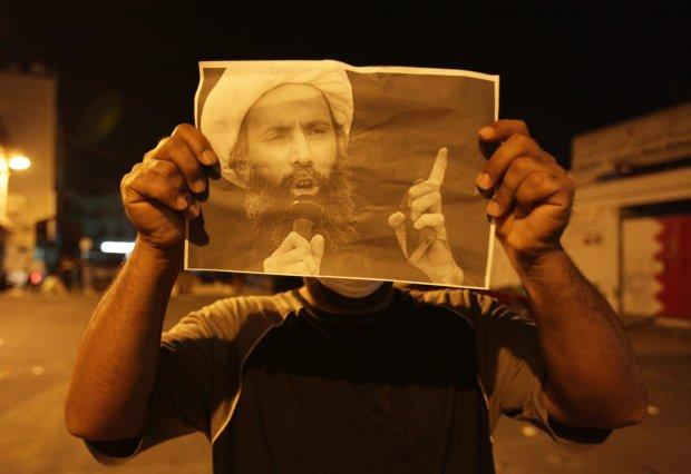Zdj�cie al-Nimra ukazane podczas star� z policj�