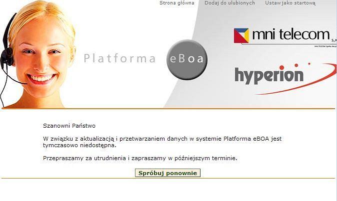 Platforma eBOA Hyperiona