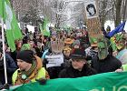 Marsz w obronie Puszczy Bia�owieskiej