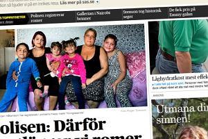 """Skandal w Szwecji: Policja zrobi�a rejestr Rom�w. """"Jak za Hitlera"""""""