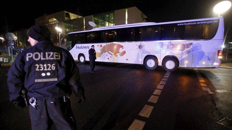 W połowie styczna starosta z Bawarii odesłał autokar z uchodźcami do Berlina